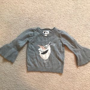 Baby gap Disney Olaf frozen sweater